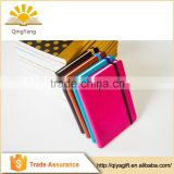 OEM PU softcover diary notebook with embossed logo