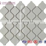 Lantern Polished Mosaic Tiles White Mosaic Tiles Ceramic Mosaic Tiles Porcelain Mosaic Tiles Water proof Mosaic Tiles