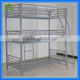 3 Person Bunk Bed,Bunk Bed for Three Persons,Triple Bunk Bed used in dormitory apartment bed