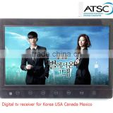 VCAN1116 10 inch portable ATSC LCD TV monitor 800 x 480 digital HD screen