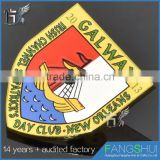 Fast delivery badge emblem metal pin badge badge maker wholesale