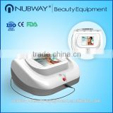 Freckles Removal 30MHZ High Frequency Vascular Therapy Device Disease Veins 1064nm Treatment Machine Long Pulsed Nd Yag Laser Veins Removal Machine