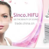 Sales Promotion!!! anti-aging Hifu machine for face lift, skin tightening, skin rejuvenation with instant results