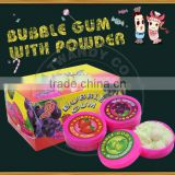 hot selling chewing gum with candy powder wholesale bubble gum