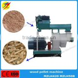 Wood chips bamboo sawdust wastes biomass pellet machine for stove boiler