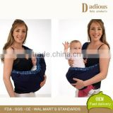 Cute Baby Carrier Newborn Baby in Swaddling Clothes Belt