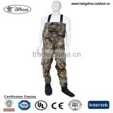 Breathable Bootfoot Waders,Stocking-Foot Breathable Waders,Camo Breathable Waders