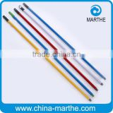 solid PVC coated metal mop handle / broom handle / brush handle