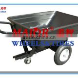 Dump cart for ATV trailer