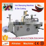 Automatic Sticker Hot Printing Machine Roll To Roll Hot Foil Stamping Machine With Die Cutting