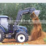 top quality YTO FOTON Johndeer Jinma tractor use universal hydraulic operating front end loader with accessories and CE