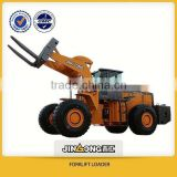 Hydraulic forklift loader used in quarry 40T capacity for sale 162Kw/h 3200mm lifting height