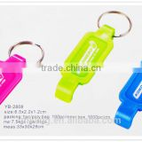 Promotional Aluminium Keychain Bottle opener, Cheap Beer Opener with Keychain Various Customized Metal Bottle Opener