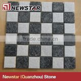Natural quartzite stone mosaic