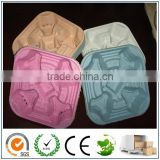 ECO Friendly Pulp Molding Packaging/4 Drink Molded Cardboard Cup Holder