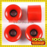 RiDGE Cruiser 59mm 78A PU Retro Soft Skateboard Wheels with ABEC 7 Bearings