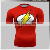 Quick Dry Superhero Compression Top Base Layer Short Sleeve