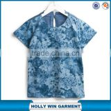 Wholesale custom new design latest t shirts for boys all over printing