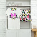 China Supplier Manufacturer 100% Cotton Cute Print Summer Young Girls Nightshirts
