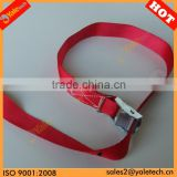 TUV/GS approved 25mm cam buckle lashing/cam buckle strap with ring/nylon straps with buckle