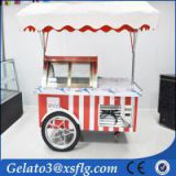 XSFLG ice cream push cart freezer machine