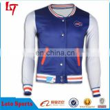 Custom fitness jacket for man,wholesale plain baseball jackets,2015 new style baseball jersey jacket