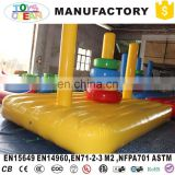 Funny inflatable hoopla game, sport ring toss game for children