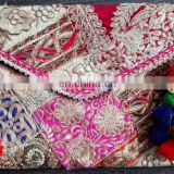 parties Wholesale Indian Ethnic Wedding Clutch Banjara Clutch Purse Beautiful Hand embroidered tribal Envelop Banjara bags