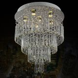 Lighting Crystal LED Chandelier Pendant Light 6050-6