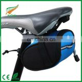 bike seat bag 600D polyester bike bag/bike bag under seat