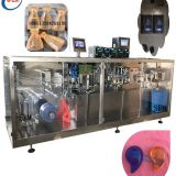 plastic ampoule chili paste packing machine,5 boquillas de llenado de ampollas de maquinas selladoras de plastico,Plastic single dose ampoule filling and sealing machine for liquid filler