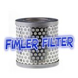 Replacement Vacuum Pump polyester filter cartridge for dust filter F 16-25, 71261288