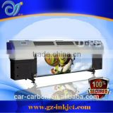 High quality!3.2m UV roll ot roll flora solvent printer Flora F1320uv printer on Konica Minolta 1024 printheads