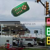 Professional Factory led gasoline price display for 8''12'' 16'' 18'' 20'' 24'' 30'' 48''