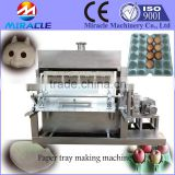 Paper recycling egg tray pulping machine, egg tray mold forming machine, shoes tray, fruit tray pulp forming machine