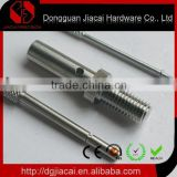stainless steel button or rivet hardware parts or machined parts used for certain aspect