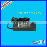 90W laptop adapter 19V 4.74A 7.4mm 5.0mm connector FOR hp Pavilion DV3 Notebook adapter