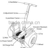 Speed sensor smart prices folding balancing chariot 6000w electric scooter for elderly