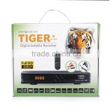 Tiger star DVB S2 Satellite receiver Tiger Star I200DC HD digital class Satelite Receiver