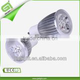 CE RoHS 100-240V LED GU10 3w led spot light mr16 220v