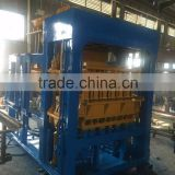 Hot sale QT5-15 hollow concrete brick machine Algeria market popular paving block machine