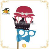 Photography Photo Booth Props A Stick Funny Party Mask Fake Paper Moustache/Mustache                                                                         Quality Choice