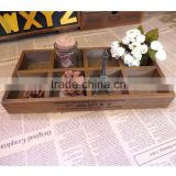 cheap wooden tray with compartments, wood tray for dry fruits, divided wood ray, woods crafts for home decoration
