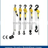 China Factory Hand Chain Lever hoist, vital lever block, munual chain hoist