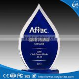 new design acrylic awards and trophies cheap crystal award and trophy