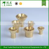 Wholesales expanding brass parts customized holes Hvac distributor