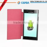 Flip leather case for Lenovo K900 ,Various colors &wholesale price cover