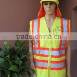 Hi-viz reflective mesh Safety vest with pocket                                                                         Quality Choice