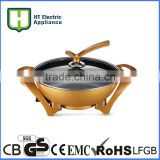 aluminum pizza pan multifunction electric pot non stick pot
