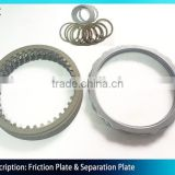Excavator Swing Motor Parts M2X96 Separator Plate M2X96 Friction Disc Plate M2X96 Steering Clutch